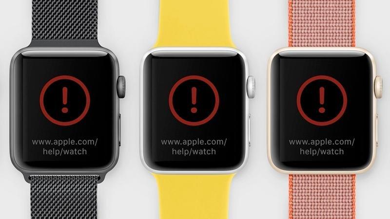 مشکلات اپل واچ