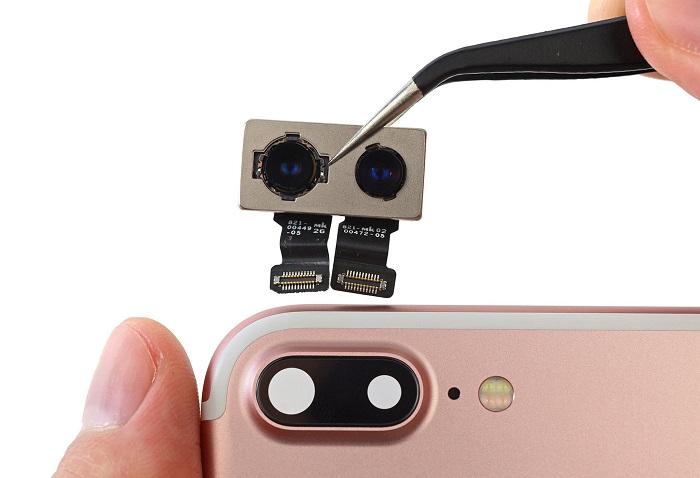 تعمیرات دوربین موبایل اپل